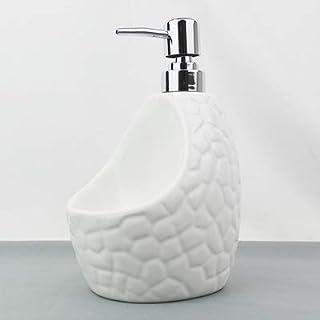Premium Quality Zeepdispenser 650lml Ceramic Zeepdispenser for Kitchen Ceramic + ABS Home Decoration vloeibare zeep Lotion...