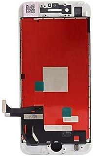 شاشة ايفون 7 بلس خارجية داخلية اللون ابيض