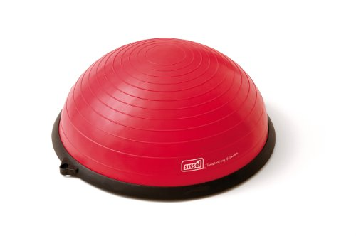 SISSEL Fit-Dome Pro , Half Ball Balance Trainer, Ø 60cm, 25cm hoch, rot