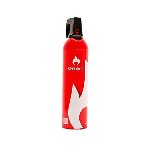 SECURIKIT ¡Oferta Dia DE LA Madre.! Regala Seguridad a los Que más Quieres Spray extintor Espuma para Coche y casa. Nuevo Lote CAD 10/23