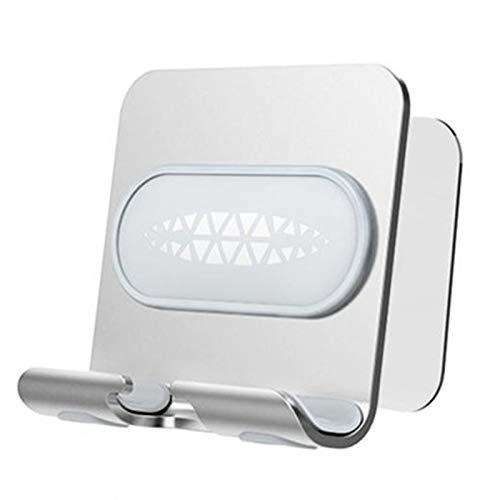 Andifany Soporte de TeléFono MóVil Soporte Universal para Tableta Soporte de Montaje en Pared para Ba?O Inodoro Tipo de Pared E