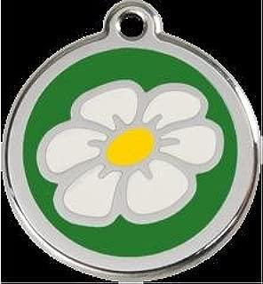 Daisy Flower Pet Id Tag - Small 4/5