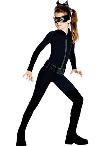 Rubie's Official DC Comics Batman Catwoman, Costume pour Enfant âgé de 12 à 13 Ans.