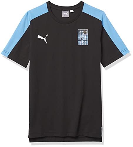 PUMA Copa AMERICAT7 tee Camiseta, Black-Uruguay, L para Hombre