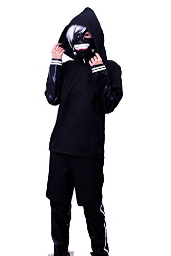 ROLECOS Mens Japanese Anime Cosplay Costumes Faux Leather Battleframe Suit S