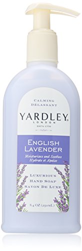 YARDLEY English Lavender Liquid Hand Soap, 8.4 Oz (3 Pack)