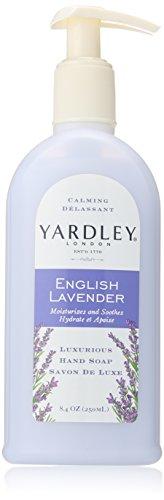 YARDLEY English Lavender Liquid Hand Soap, 8.4 Oz (3 Pack)