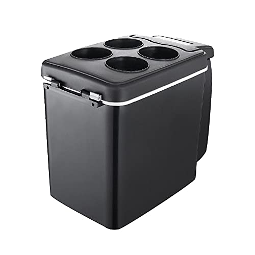 LIUXU Refrigerador de automóviles-6L 12V Mini refrigerador portátil, refrigerador del congelador del compresor, Adecuado para la refrigeración y calefacción de Campamento de Picnic