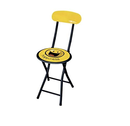 AS4HOME Sitzhocker mit Smiley Happiness Hocker Stuhl