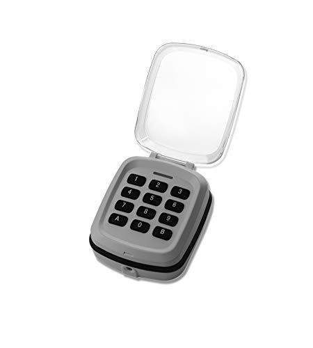 Funk-Codetaster kompatibel mit Schellenberg SMART Drive 10 & 14 mit 433 MHz Codetaster Codeschloss Zahlenschloss Zahlencode
