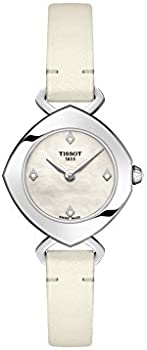 Tissot Femini-T Mother of Pearl Diamond Dial Ladies Watch