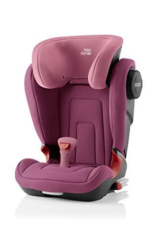 Britax Römer Kindersitz 3,5 - 12 Jahre I 15 - 36 kg I KIDFIX 2 S Autositz Gruppe 2/3 I Wine Rose