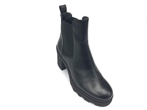 Janet Sport Art.44802 - Botas con tacón negro de piel Negro Size:...