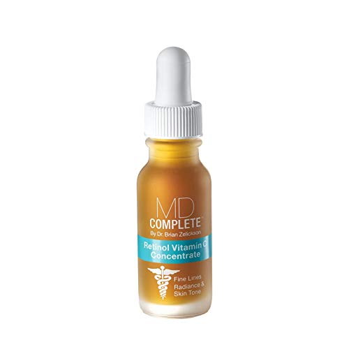 MD Complete Retinol Vitamin C Concentrate Serum - professional dermatologist skincare anti-aging skin rejuvenation for face and body serum