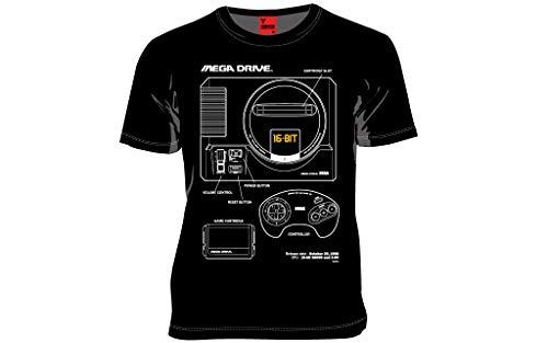 MARS16 SEGA メガドライブTシャツ (L)