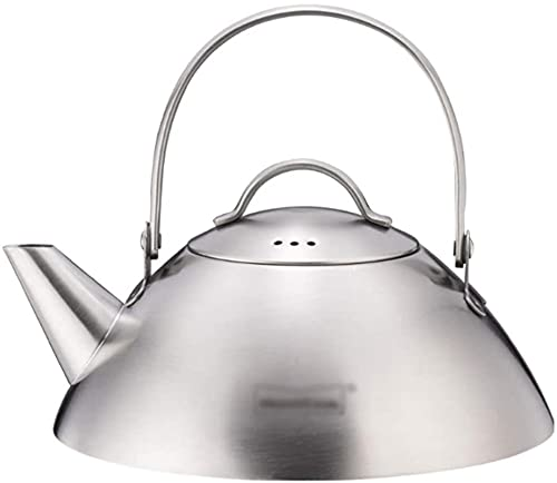 Tetera de acero inoxidable para estufa de cocina, para varios utensilios de cocina (0,6 l/20 onzas)