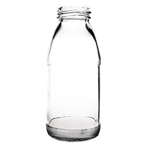 Olympia CL141cristal botella de leche, 200ml (Pack de 12)
