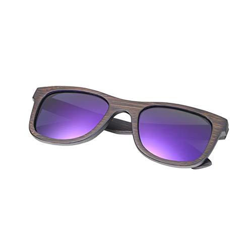 GHCDSNBN Gafas De Sol De Bambú, Gafas De Sol Polarizadas, Gafas De Sol De Madera Hechas A Mano.