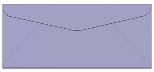 Earthchoice Orchid No 10 (4-1/8-x-9-1/2) Envelopes 500-pk - 089 GSM (24/60lb Text) PaperPapers Holds Letter Paper Folded 3-Way Econo Standard #10, Professional and DIY Business Envelopes