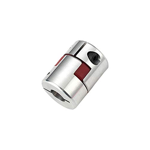 HLY-CASE Copoplador D30L42 Series Flexible Plum Abrazadera Eje del Acoplamiento CNC Acoplamiento de la mandíbula 6/8/10/12 / 14 / 16mm Universal (Inner Diameter : 12X14)