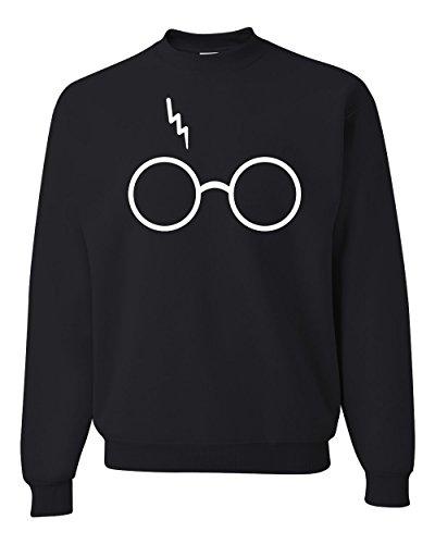 Wild Bobby Wizard Glasses Scar Unisex Crewneck Sweatshirt Fashion Sweatshirt