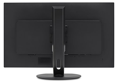 Philips 328P6VJEB/00 80 cm (31,5 Zoll) Monitor (DVI, Displayport, VA Panel, 4x USB, 3840 x 2160, 60 Hz, 4 ms, Pivot) schwarz