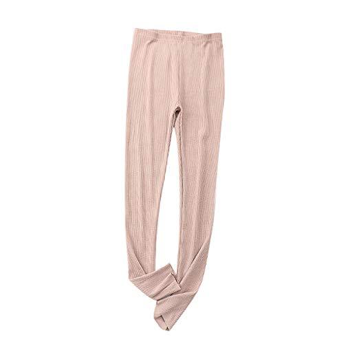 URSING Haushose Damen Schlafanzughose Lang Schlafhose Elegante Lange Hosen Workout Pants Sportswear Freizeithosen Locker Hose Sporthose Trainingshose