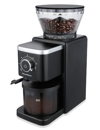Electric Conical Burr Coffee Grinder, Stainless Steel Coffee Grinder