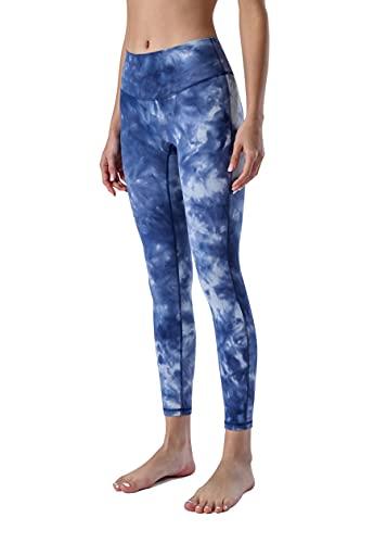 JNWBFC Leggings De Mujer Cintura Alta Tie-Dye Nude Yoga Pantalones Pantalones Primavera Verano Sin Línea De Vergüenza Gimnasio Deportes Estiramiento Fitness