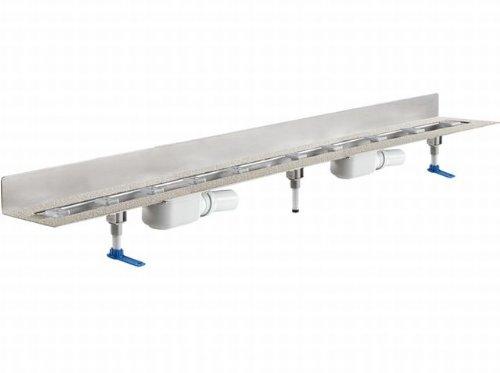Dallmer Duschrinne CeraLine PLAN W 1500mm, 524607, DN 50 Bauhöhe 90mm