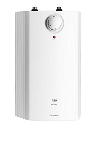 AEG druckloser Kleinspeicher mit ThermoStop-Technologie 5l, 2 kW, steckerfertig, untertisch, stufenlose Temperaturwahl von ca. 35-85 °C
