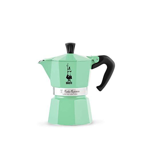 Bialetti Moka Express Espressokocher aus Aluminium ICE, 3 Tassen