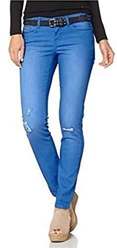 AJC Hose Skinny Damen Blau - Gr. 42