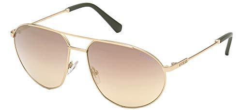 Guess Gafas de Sol GU00009 Pale Gold/Light Brown Shaded 60/16/140 unisex
