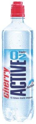 Active O2 fitness,0,75l, Cherry - 8 x 0,75l