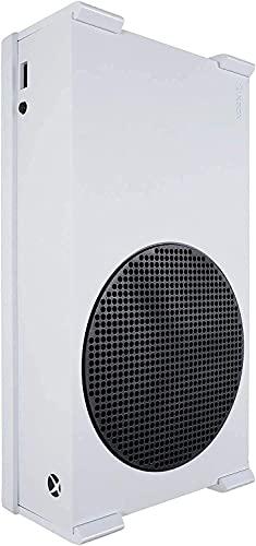 Q-View Wandhalterung für Xbox Series S – NV-2000W – sichere Montage unter dem Schreibtisch – Signatur-X-Design – Montage-Set – Hergestellt in Großbritannien – Kunststoff – Weiß