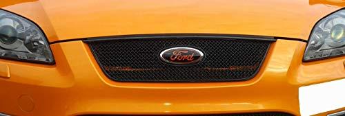 Zunsport Kompatibel mit Ford Focus ST – oberer Grill, schwarz (2005 bis 2007)