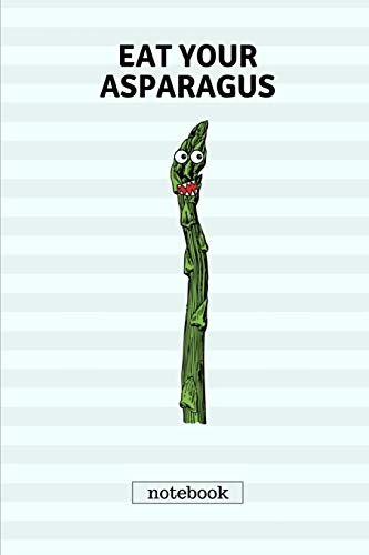 Eat your asparagus: Cute casual writing pad