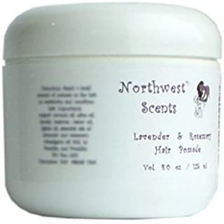 Northwest Scents Lavender and Rosemary Hair Pomade for Black, African American, Afro Caribbean, Dry, Coarse, and Highly Textured Hair - 4 oz jar