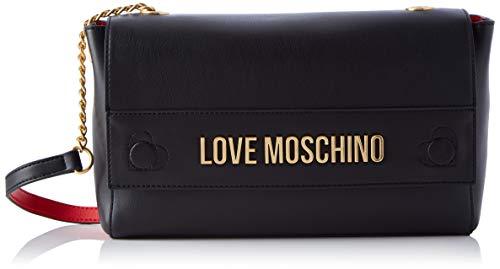 Love Moschino JC4269PP0BKN0, BORSA A SPALLA Donna, Nero, Normale