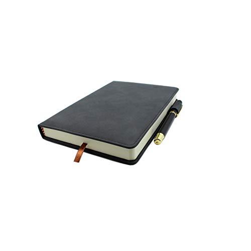 YUANHEN 手帳 ドメモ ンダー ノート 学生 学校 学用品 事務用品ルーズリーフ - 超厚 360ページ(180枚の紙)簡潔で気前がよい サインペン 1枚