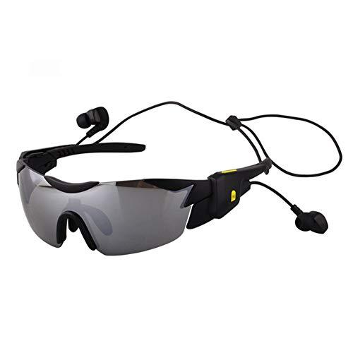 ZXGHS Gafas Inteligentes Bluetooth, Gafas Polarizadas Multifuncionales para Montar / 4.1 Gafas Bluetooth Smart Voice, Compatibles con La Mayoría De Los Dispositivos Android De Apple,1