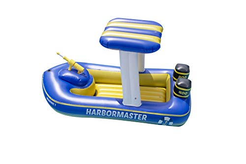 Swimline Harbor Master Patrol Boat w/ Pump Action Squirter  $46 at Amazon