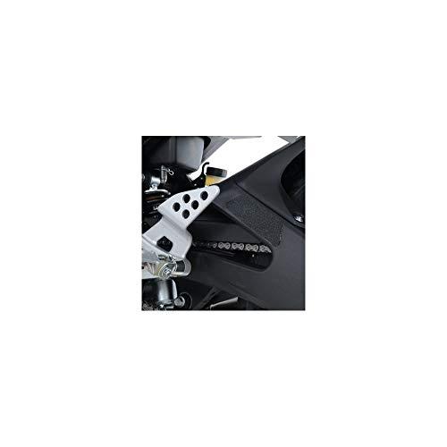 R&G Eazi-Grip Boot Guard Pads - schwarz - Yamaha YZF-R125 '14-