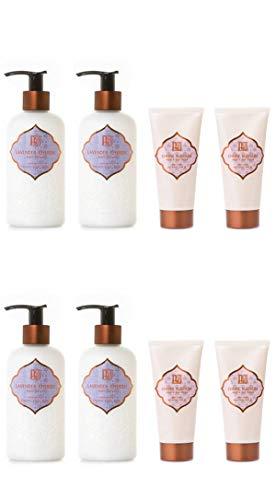 AKALIKO Lavender Cherish Body Lotion and Cherry Blossom Hand Cream - Set C.