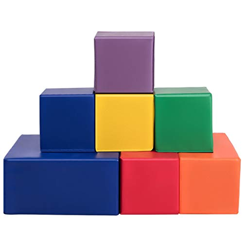 Great Features Of simplyUSAhello 7 Pieces Set PU Foam Big Building Blocks for Kids