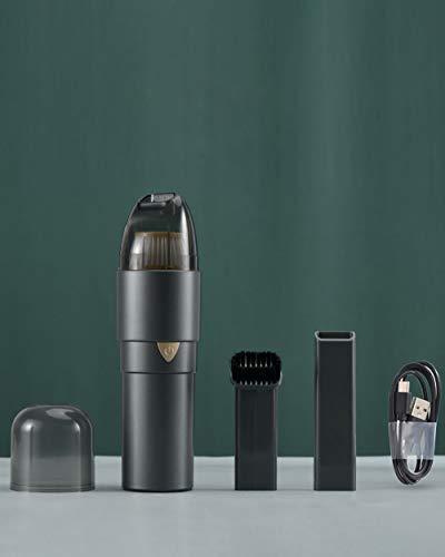 Aspiradora de Mano, 60W Aspirador Mano Sin Cable Potente, Carga rápida USB Aspiradoras en Seco y Húmedo, Batería de 2500mAh,Filtro Lavable, Accesorio Completo para Oficina, Hogar, Coche
