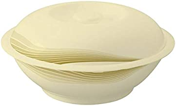 Royalford Off White 10 Inch Soup Bowl With Lid,Rf8200,Melamine