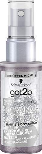 Schwarzkopf got2b Glanzstück Sparkling Silber, 1er Pack (1 x 50 ml)
