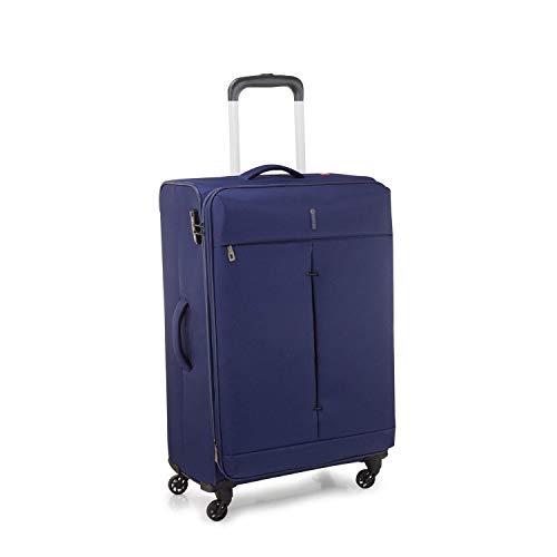 Roncato Trolley Moyen Taille 67Cm avec Systeme Extensible Souple Ironik - cm. 67 x 44 x 27/31 Capacité 74-87 L, Extensible, Légère, Serrure TSA, Garantie 2 Ans